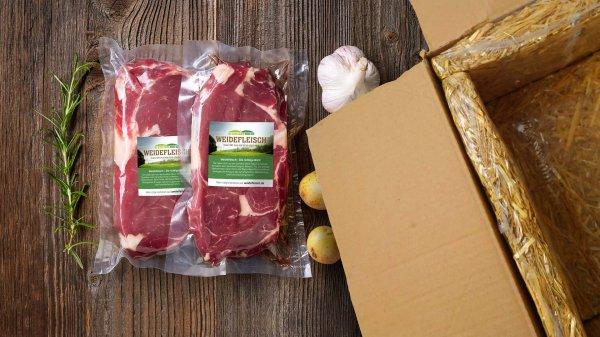 Weidefleisch Probierpaket Bio-Rindfleisch